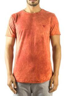 Camiseta Longline Curve Brohood Sky Masculina - Masculino