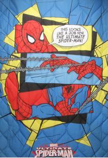 Edredom Infantil Lepper Kids Spider-Man Ultimate Azul