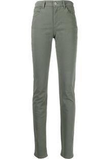 Emporio Armani Calça Jeans Slim - Verde