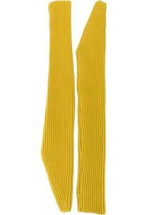 Calvin Klein 205W39Nyc Par De Luvas Longas - Amarelo