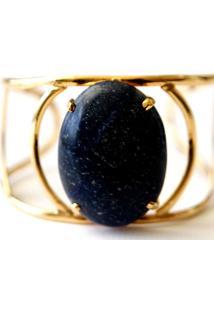 Bracelete Pedra Quartzo Azul Twik