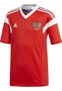 Camisa Russia® I Boys - Vermelha & Branca - Adidasadidas