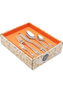 Faqueiro Inox Oma C/Gift Box - 30 Peças