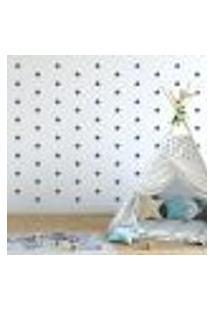 Adesivo Decorativo De Parede - Kit Com 230 Estrelas - 005Kaa19