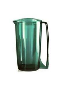 Jarra Vitra Com Resfriador 1,8 Litros Verde Esmeralda - Ou