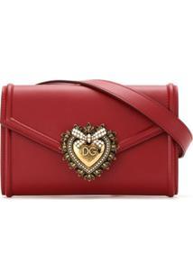 Dolce & Gabbana Pochete Sacred Heart - Vermelho