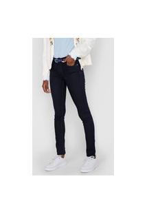 Calça Jeans Lez A Lez Skinny Sirena Azul-Marinho