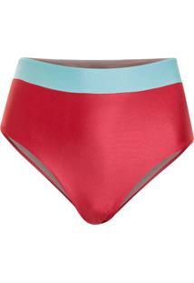 Calcinha Bejoy Hot Pant Recortes Rosa/Verde