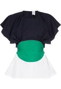 Rosie Assoulin Blusa 'Venn' - Azul