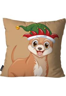 Capa Para Almofada Mdecor De Natal Caramelo