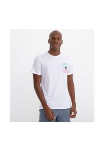 Camiseta Com Estampa Nas Costas | Ripping | Branco | M