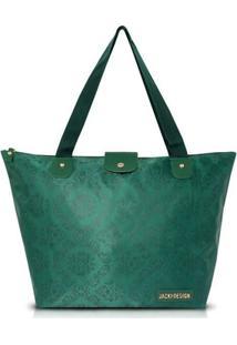 Bolsa Jack Design Dobrável - Feminino-Verde