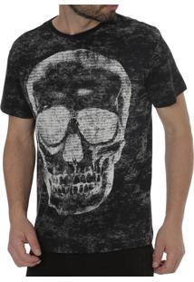 Camiseta Manga Curta Energy Preto