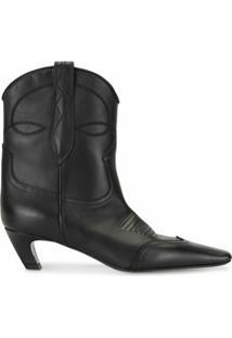 Khaite Ankle Boot The Dallas - Preto