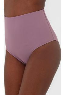 Calcinha Dilady Hot Pant Shape Roxa