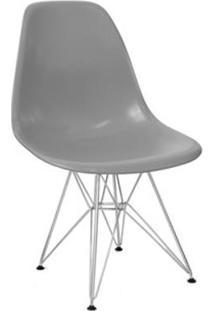 Cadeira Em Polipropileno Cinza