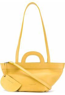 Marsèll Bolsa Transversal - Amarelo
