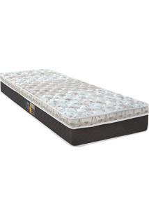 Colchão Sleep Class Pocket Híbrido Solteiro- Cinza & Marcastor