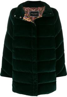 Etro Single-Breasted Coat - Verde