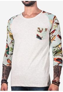 Camiseta 3/4 Tropical 100281