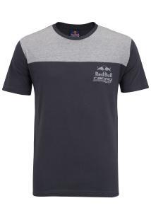 Camiseta Red Bull Racing Cutout - Masculina - Cinza