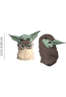 Mini Figuras Colecionáveis - 5 Cm - Disney - Star Wars - The Mandalorian - Baby Yoda Com Cobertor E Sopa - Hasbro