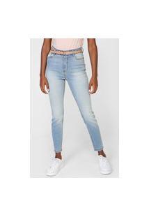 Calça Jeans Hering Skinny Lisa Azul
