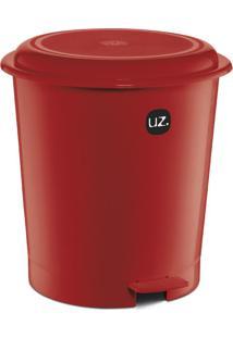 Lixeira Plus Vermelha 12 L