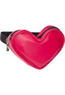 Pochete Coração Dai Bags - Vermelho