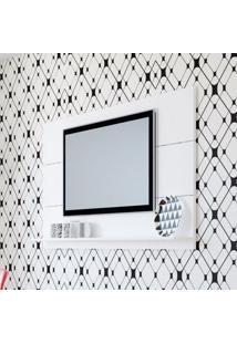 Painel Para Tv 47 Polegadas Slim Branco 180 Cm