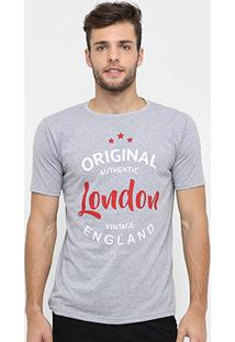Camiseta Burn London - Masculino