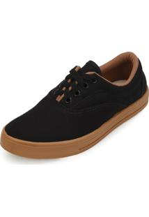 Tênis Mont Car Mark Shoes Mh18-300 Preto-Marrom