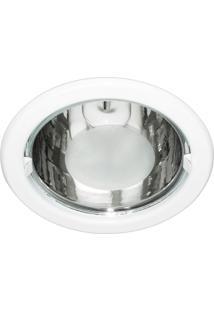 Luminária De Embutir Redonda Branca 1Xe27 Bonin 1160Bc