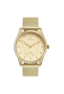 Relógio Technos Feminino Dourado Analógico 2036Mod1X