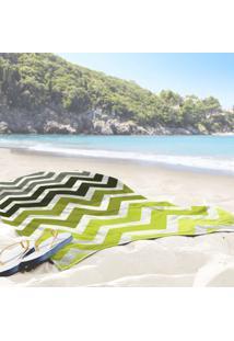 Toalha De Praia / Banho Chevron New