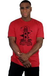 Camiseta Bleed American Lighthouse Vermelha