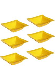 Saladeira Vemplast Moove Amarelo