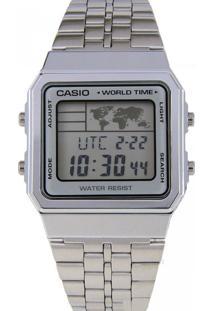 Relógio Casio A500Wa7Df Prata