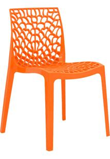 Cadeira Gruv -Rivatti - Laranja