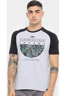 Camiseta Hd Raglan Branch Masculina - Masculino