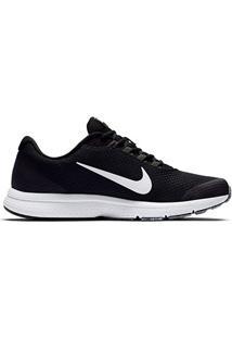 Tênis Nike Runallday Masculino - Masculino-Branco+Preto
