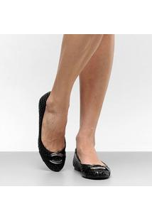 Sapatilha Couro Shoestock Tressê Feminina - Feminino