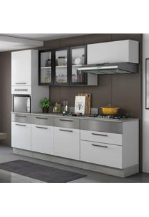 Cozinha Compacta Exclusive 8 Pt 5 Gv Branca