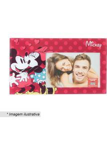 Porta Retrato Mickey & Minnie Mouse® - Vermelho & Preto