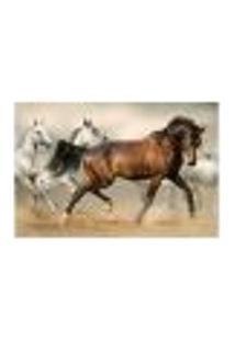 Painel Adesivo De Parede - Cavalos - Animais - 1735Pnm