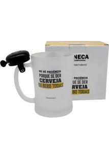 Caneca C/ Campainha Paciencia Unica - Zona Criativa