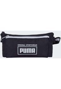 Pochete Puma Sole Waist Bag Preto