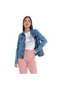 Jaqueta Pkd Slim Jeans Azul