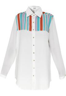 Camisa Lança Perfume Estampada Off-White