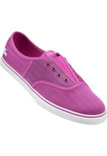 Tênis Lacoste Rene Sleek Slip Hpc - Feminino-Pink+Branco